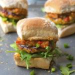 Curry Chicken Burgers | brightrootskitchen.com