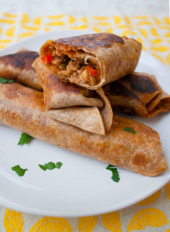 Turkey Taquitos | brightrootskitchen.com