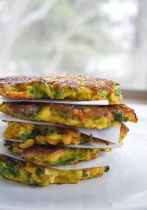 root veggie pancakes