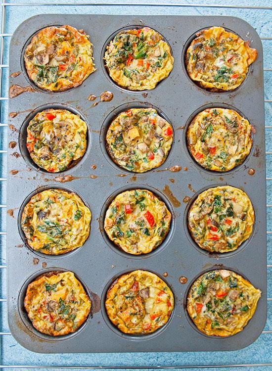 Frittata Muffins | brightrootskitchen.com