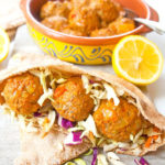 Spiced Baked Turkey Meatballs | brightrootskitchen.com