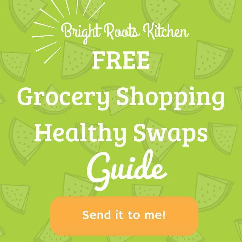 BRK Grocery Healthy Swaps Guide| brightrootskitchen.com