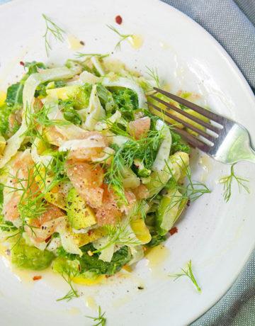 Grapefruit-Avocado-Salad   brightrootskitchen.com