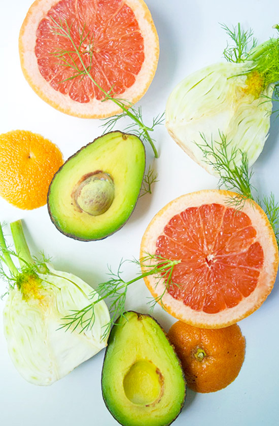 Grapefruit-Avocado-Salad | brightrootskitchen.com