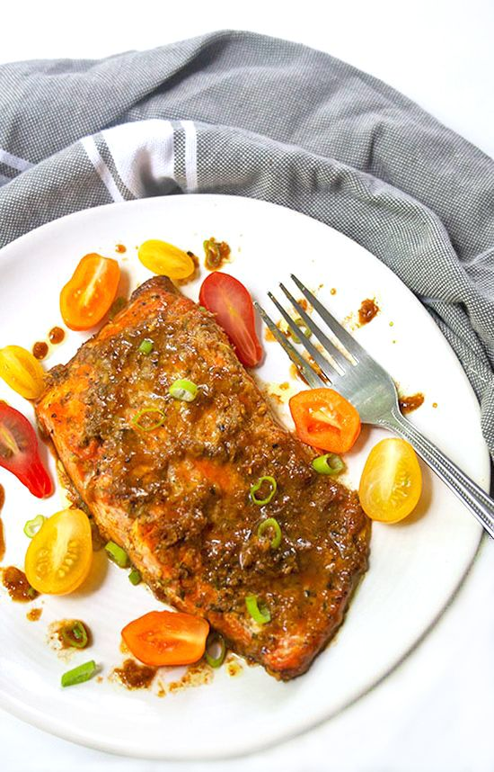Sweet-and-Spicy-Glazed-Salmon|brightrootskitchen.com