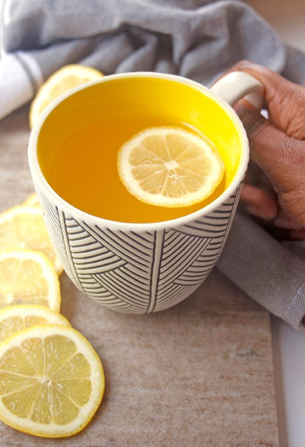 Detox Lemon Ginger Tea | brightrootskitchen.com