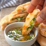 How to make scallion pancakes| brightrootskitchen.com