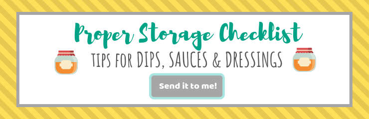 Proper storage checklist| brightrootskitchen.com