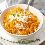 Turmeric Rice| brightrootskitchen.com