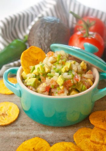 Chunky Avocado Salsa | brightrootskitchen.com