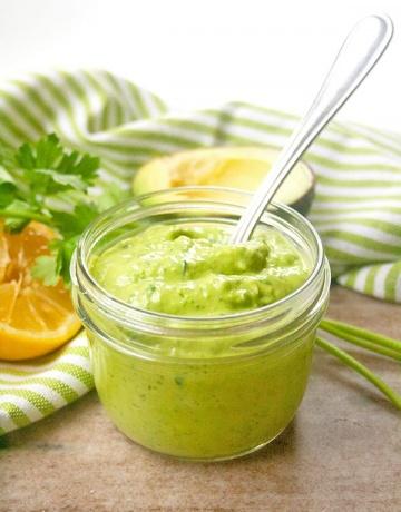 Creamy avocado spread