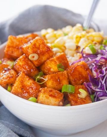 Spicy Chipotle Tofu| brightrootskitchen.com