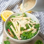 Kale Apple Salad | brightrootskitchen.com