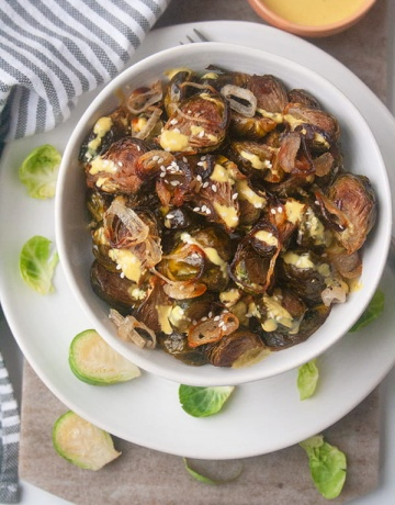 Roasted Brussel Sprouts | brightrootskitchen.com
