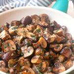 Garlic Mushrooms | brightrootskitchen.com
